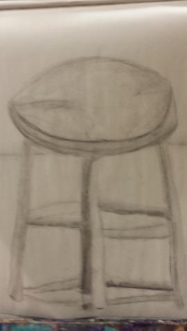 Sensational Drawing Class Lesson 2 Jennifer Lohmann Bralicious Painted Fabric Chair Ideas Braliciousco