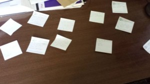 Revision post-its