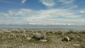 View off Antelope Island