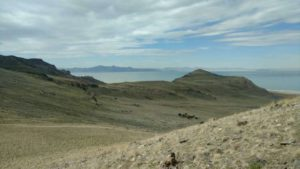 View to the west of Antelope Island