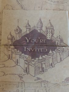 Inside the invitation